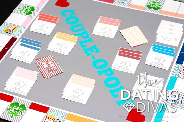 A customizable board game for couples on date night!