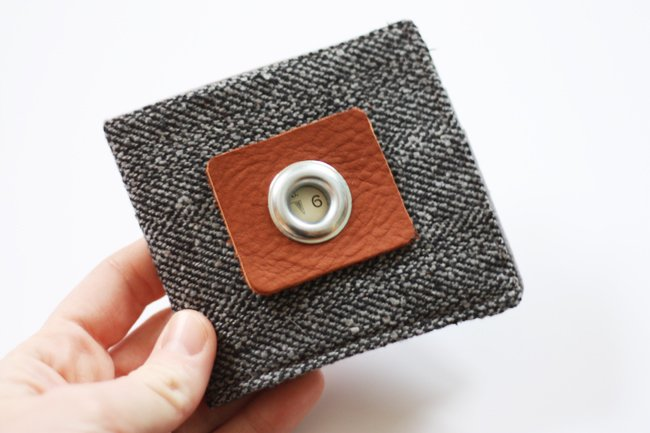 How to make a wallet. DIY gift ideas for men or boys.