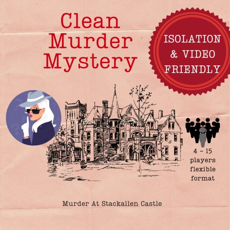 Fun murder mystery game to play as a couple or in a group. Interactive date night ideas for parents to do at home