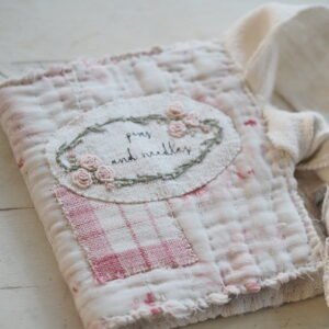 Adorable embroidered needle case free pattern