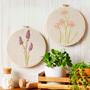 Free flower embroidery patterns