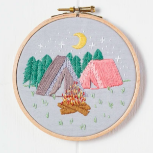 Outdoorsy embroidery pattern download