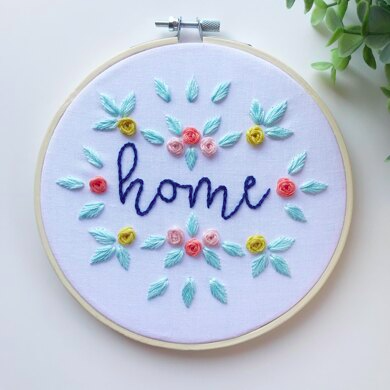 DIY modern hand embroidery patterns free pdf downloads