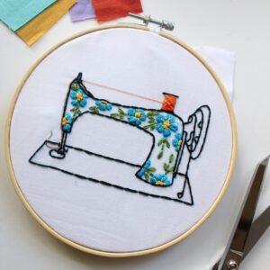 Sewing machine pdf embroidery pattern